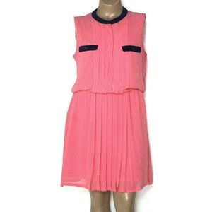 New York & Company XL, Pink Chiffon Mini